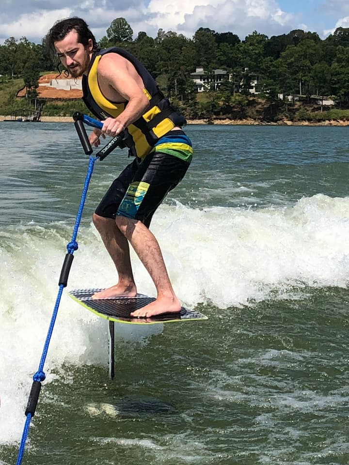 Learning how to hydrofoil
