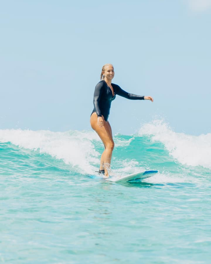 Learn to shred waves!
