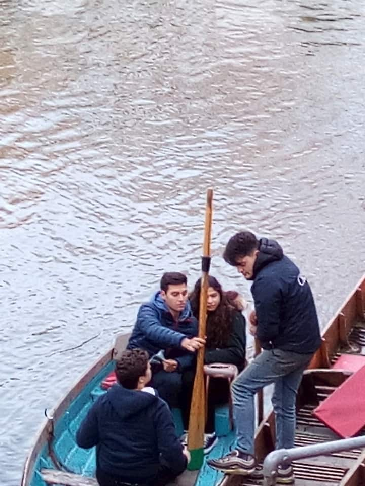 Oxford river walk tour