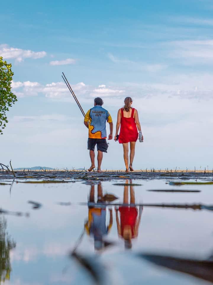 Coastal walk, cultural practises