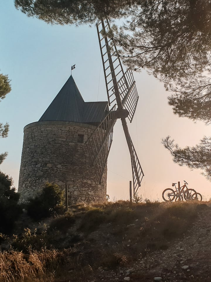 The 18th century windmill