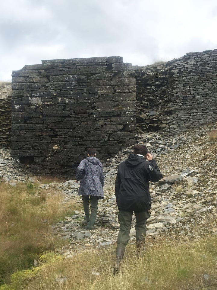 Exploring the Croesor slate mines
