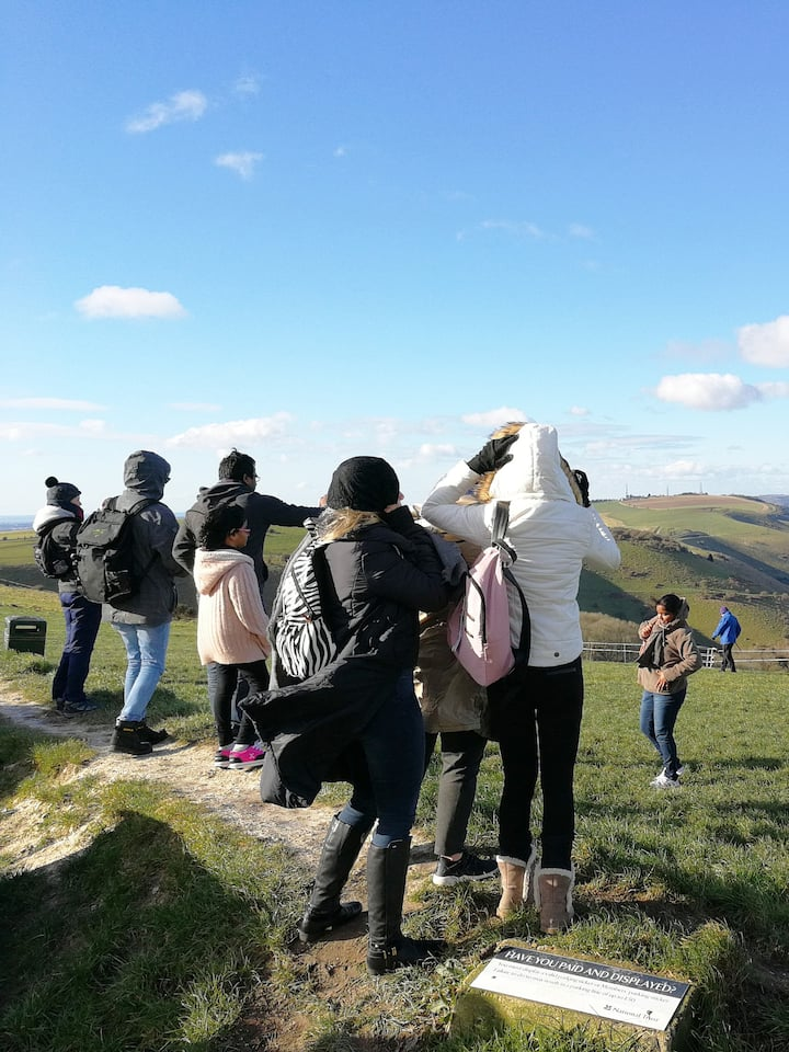 The view from Devils Dyke