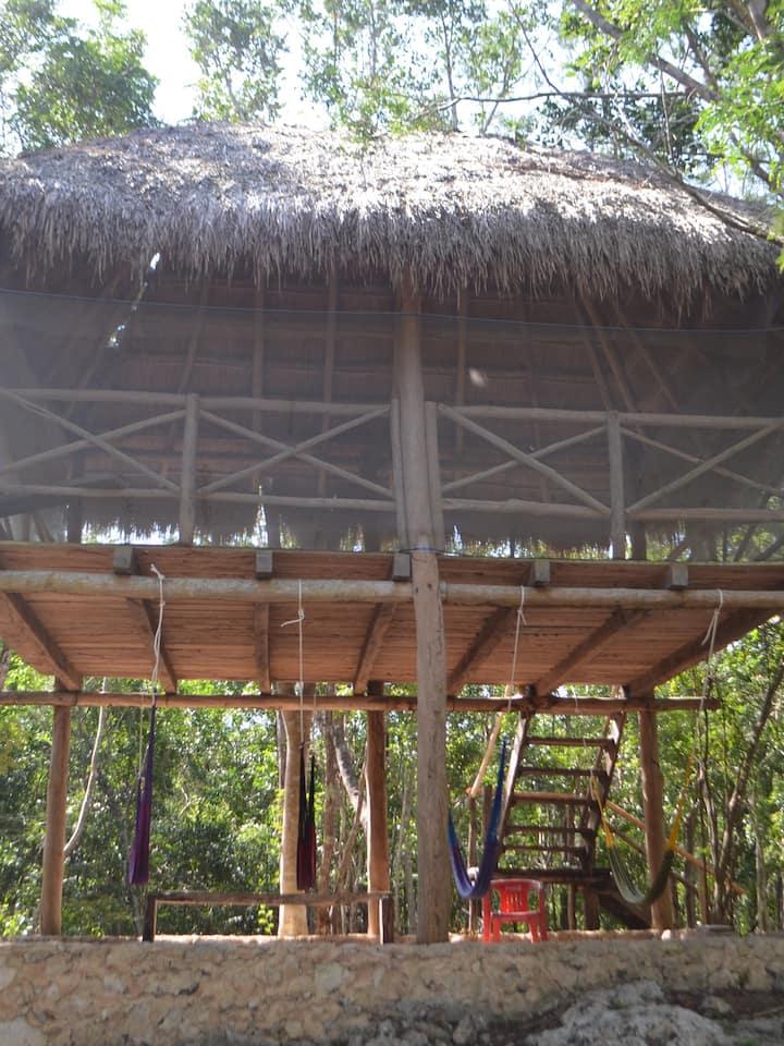 Conoce las construcciones mayas...