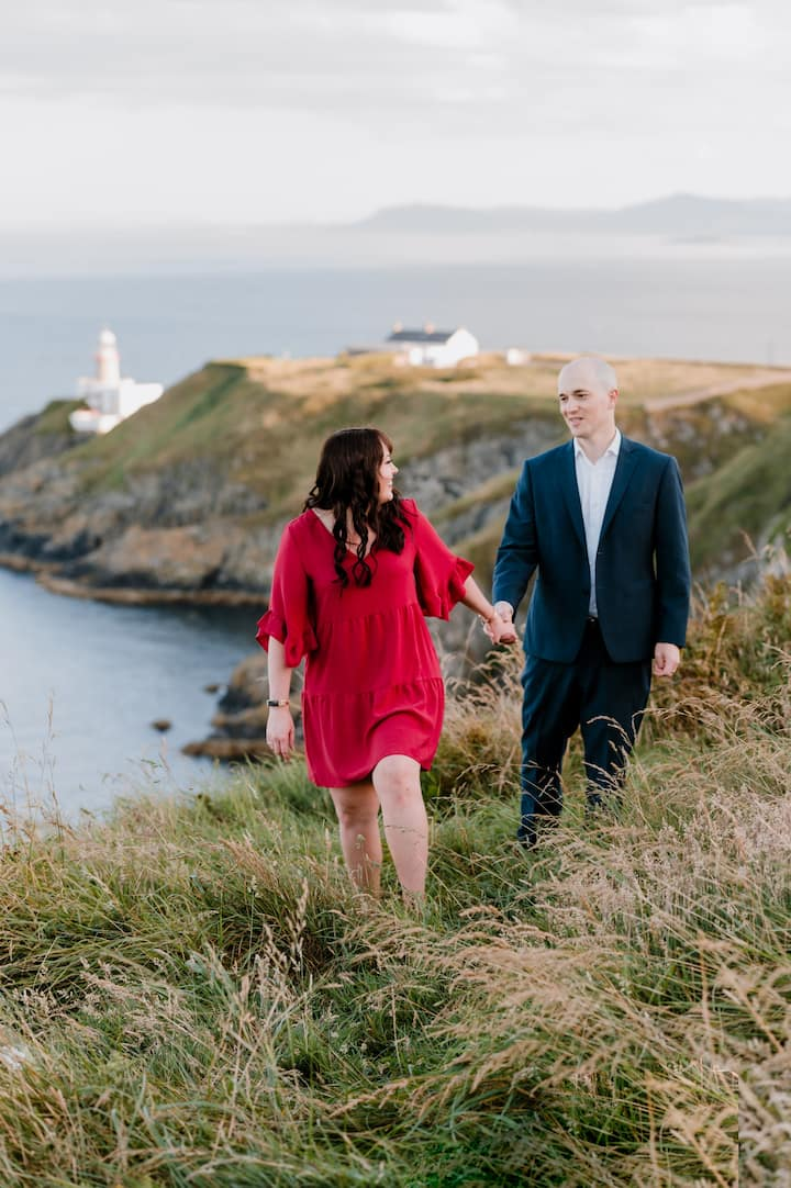 Romantic photoshoot in Howth