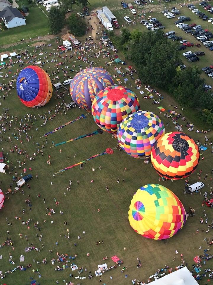 A balloon event