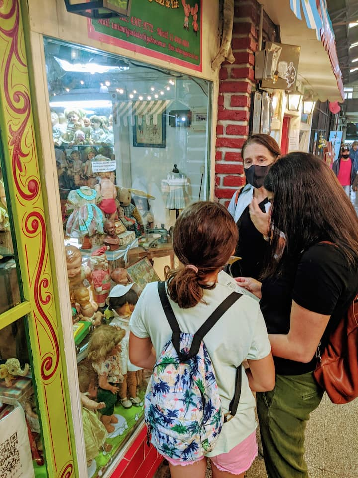 Discovering antique toy shops
