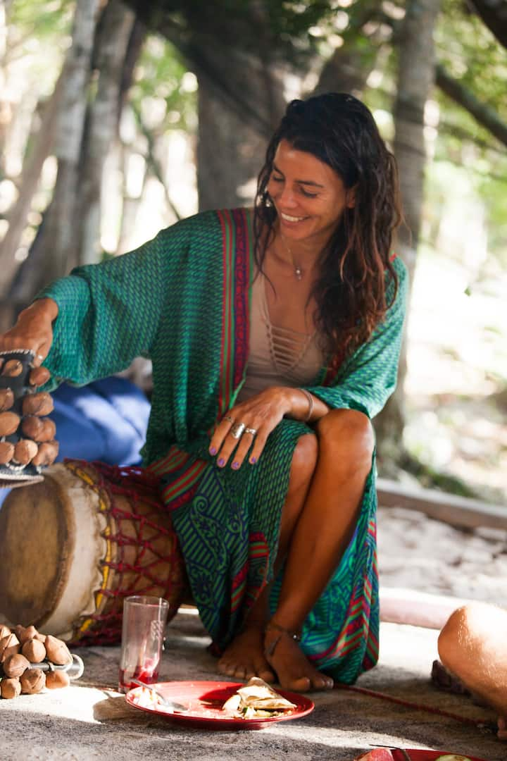 We are all musicians at CenoteIxchel