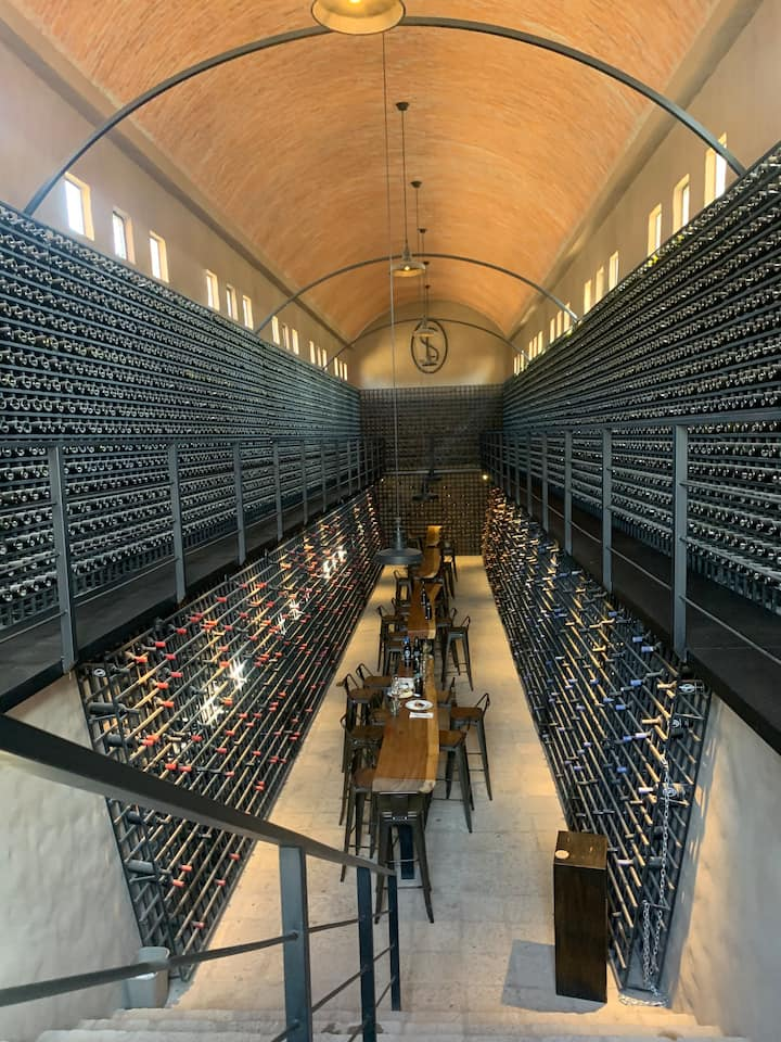 Beautiful Wine Tasting Room