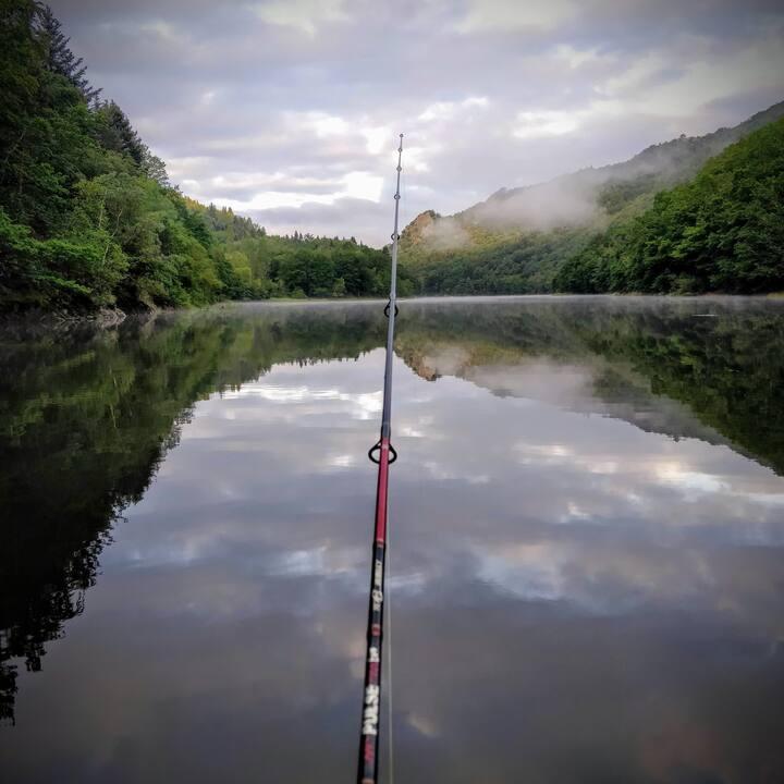 Sortie de pêche en solitaire