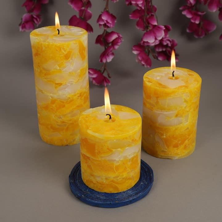 Chunk candles