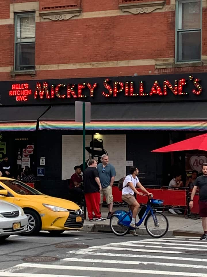 Mickey Spillane's in Hell's Kitchen.