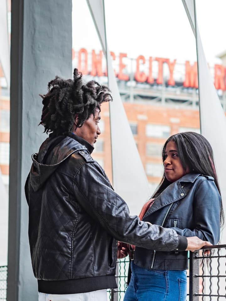 A Couples Love at Ponce City Market