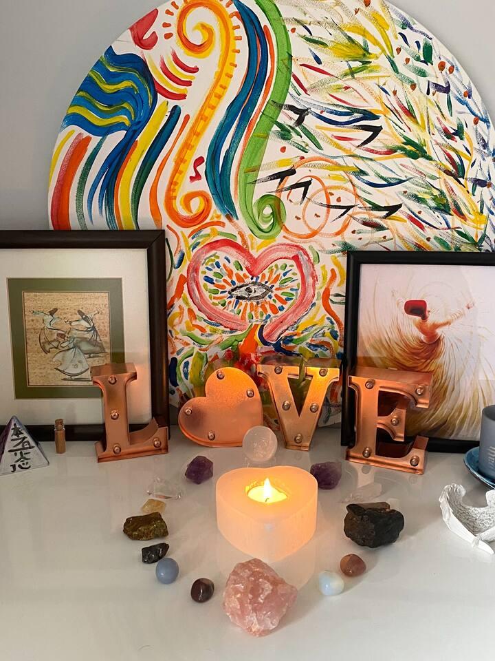 Sacred healing space