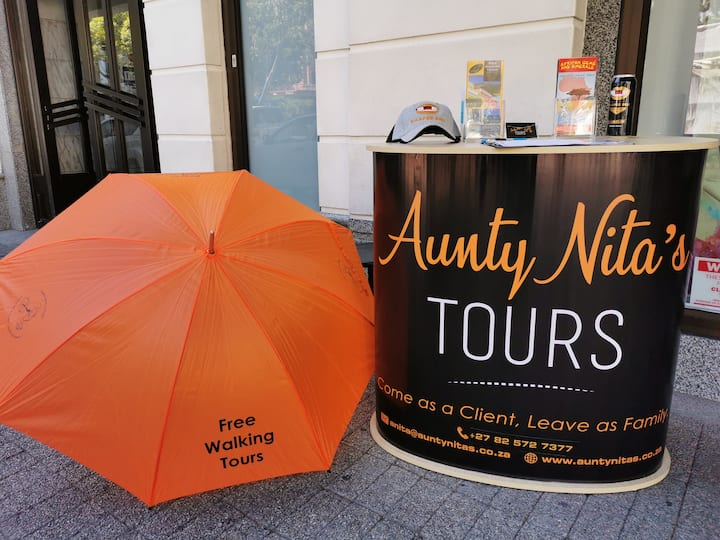 Look out for the Orange umbrellas