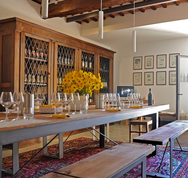 Sensorial Tasting in our equipped room