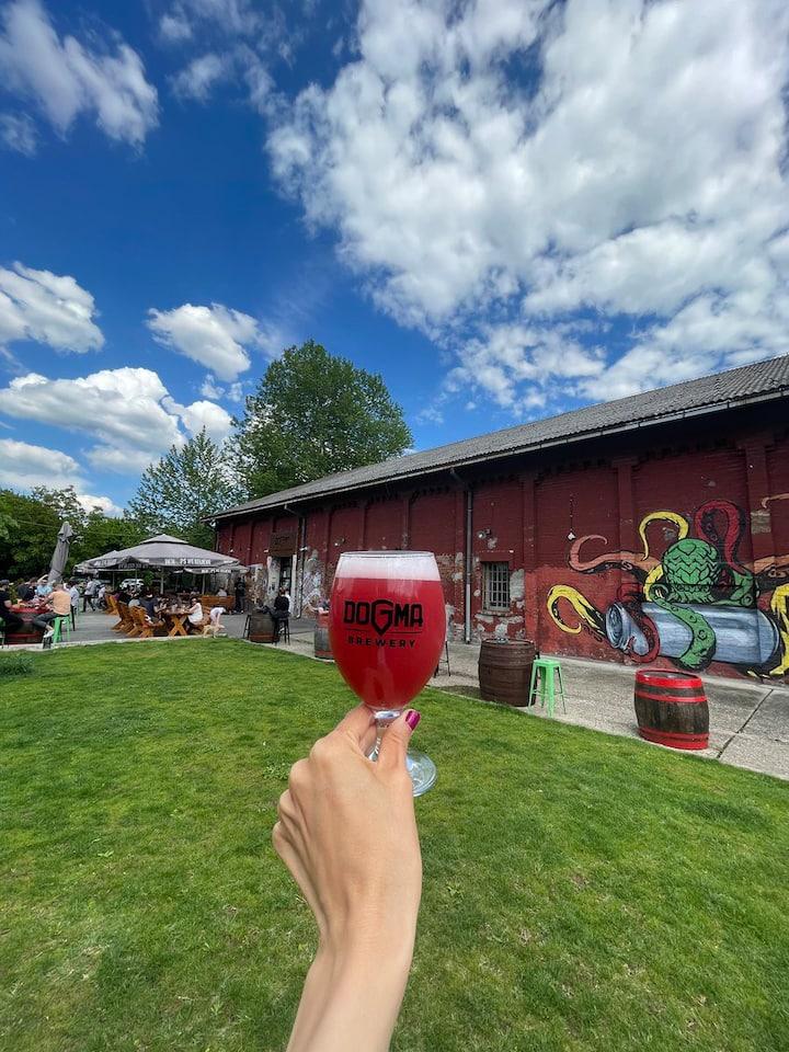 Dogma Brewery Garden