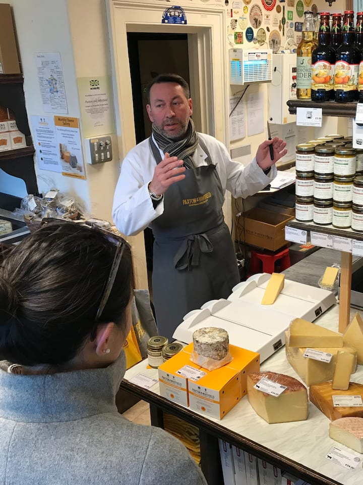Learn from expert cheesemongers