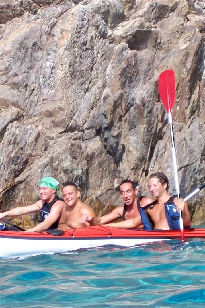 Kayak a Chia