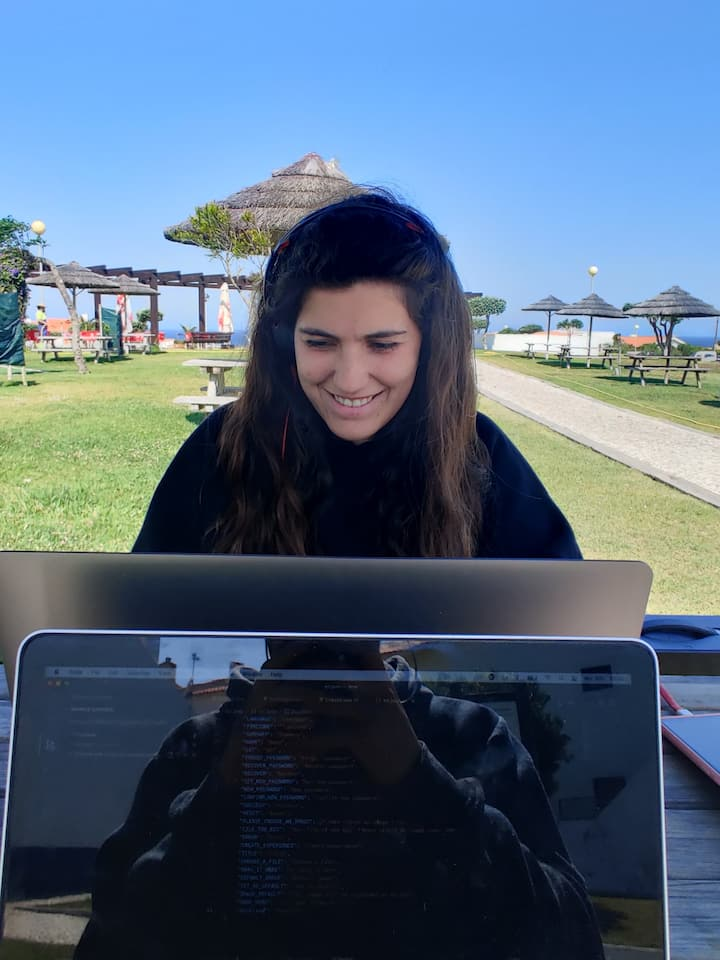 Working remotely during vanlife