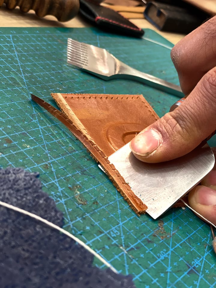 Reducing borders to stitch