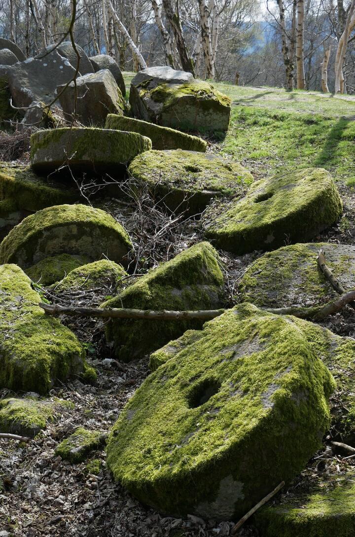 Discarded millstones