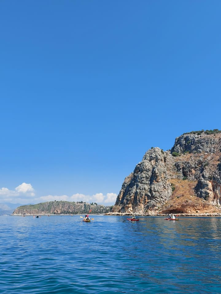 The rock of AkroNafplia