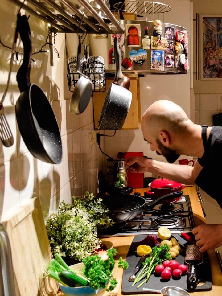 Colors, is what makes a dish unique