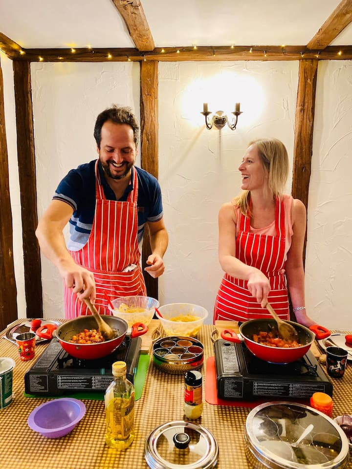 Private bespoke Indian cookery classes