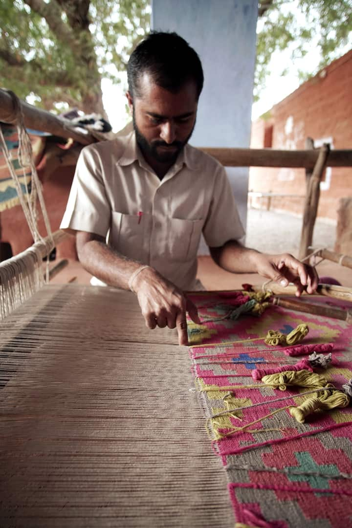 Myself Weaving