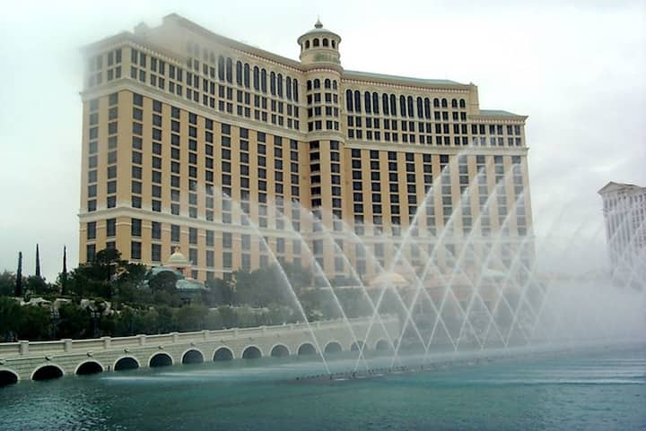 The story behind the fountains is cool