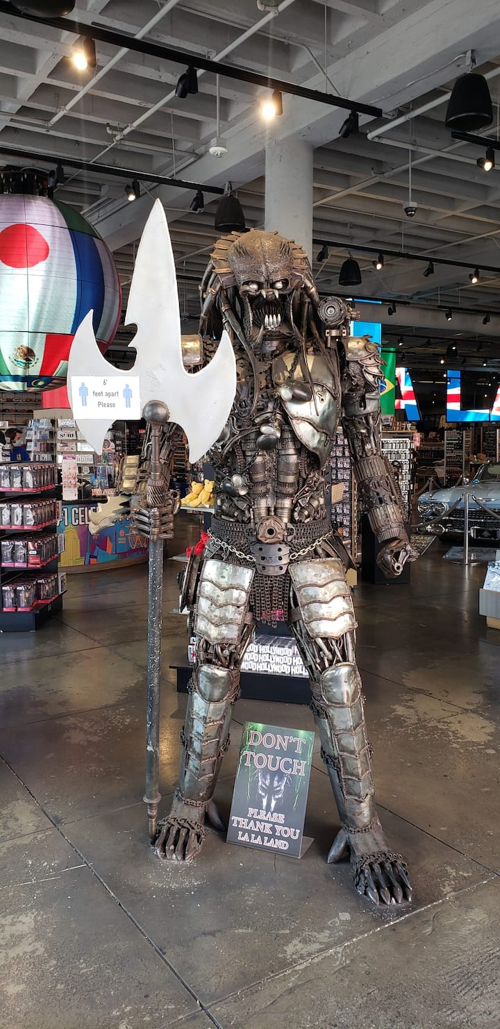 Grab a pic with the Predator!