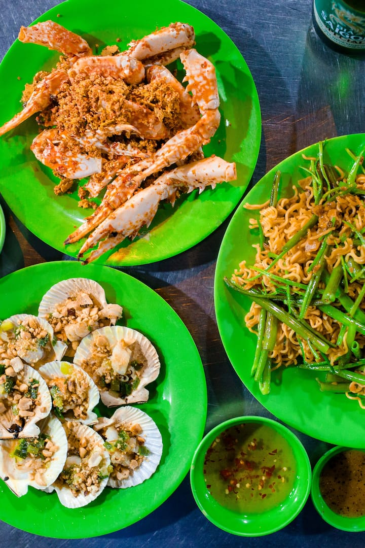BBQ seafood in district 4