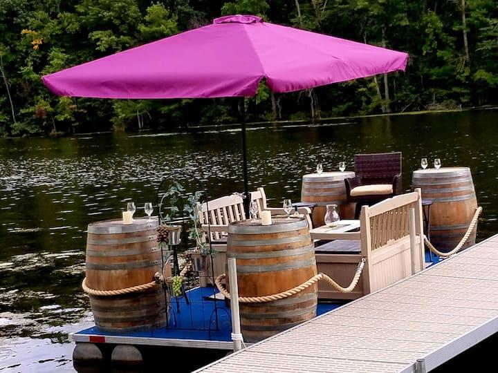 FLX Wine Barge