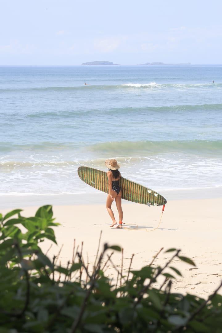 surf en el paraíso
