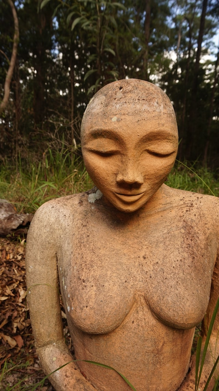 Large garden sculpture