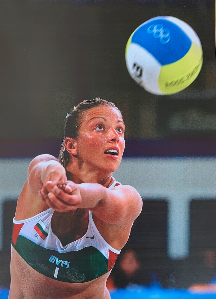 Lina at the Olympics