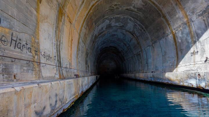 WWII Submarine Tunnel