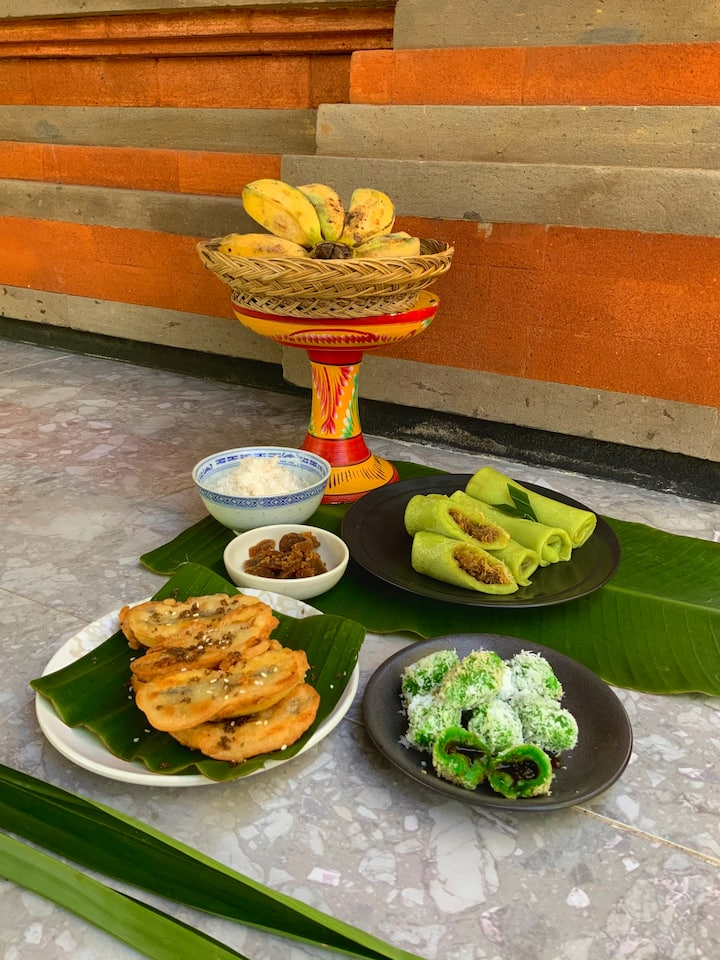 Indonesian traditional cakes