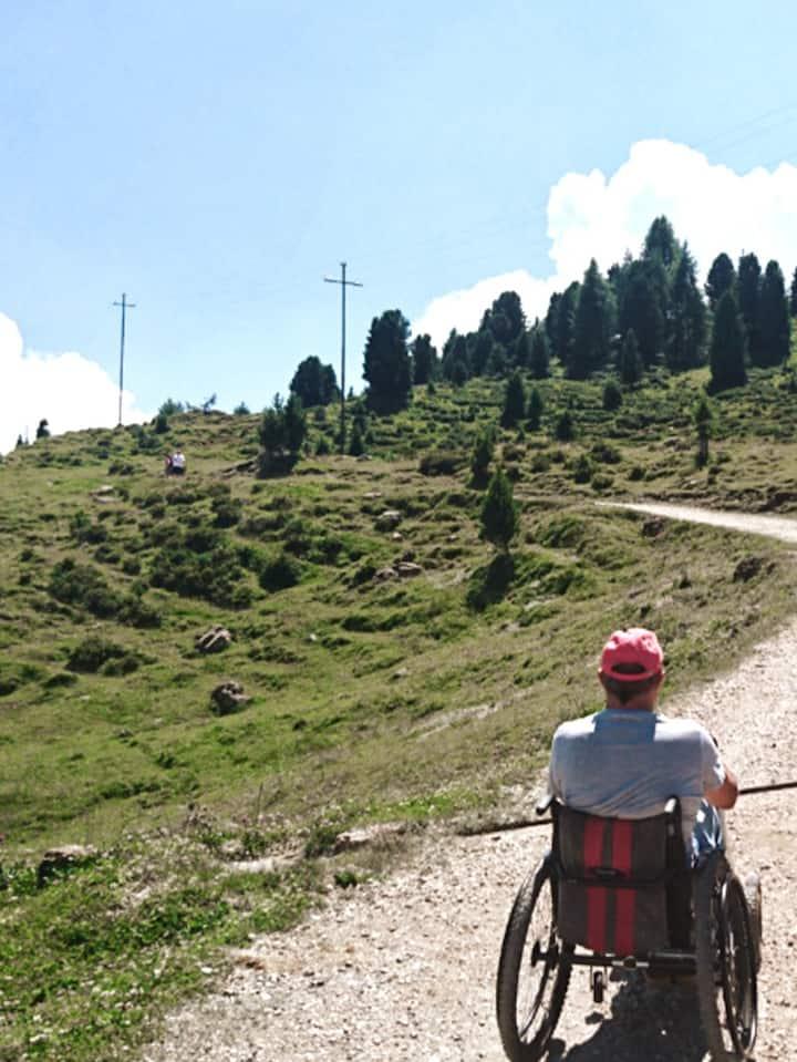 Wanderung Richtung Mahlknechthütte