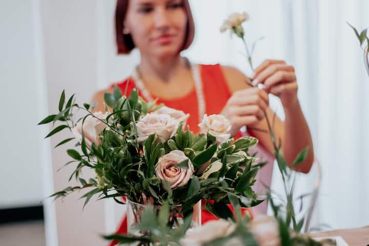 Building a bouquet