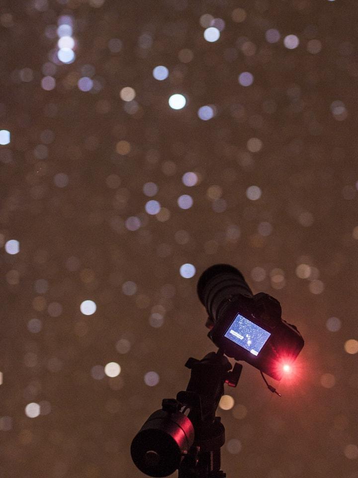 Appareil visant la Nébuleuse d'Orion