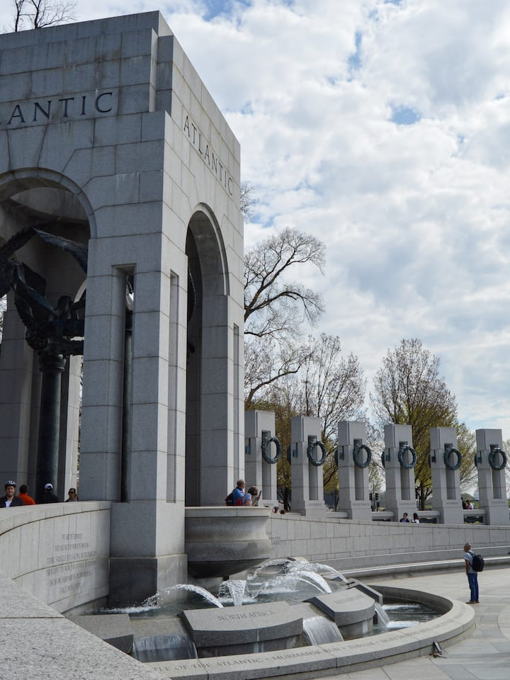 WWII Memorial shot on Sony by RHP 2021