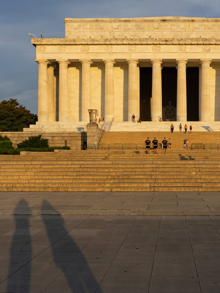Lincoln Memorial shot on Sony by RHP '20