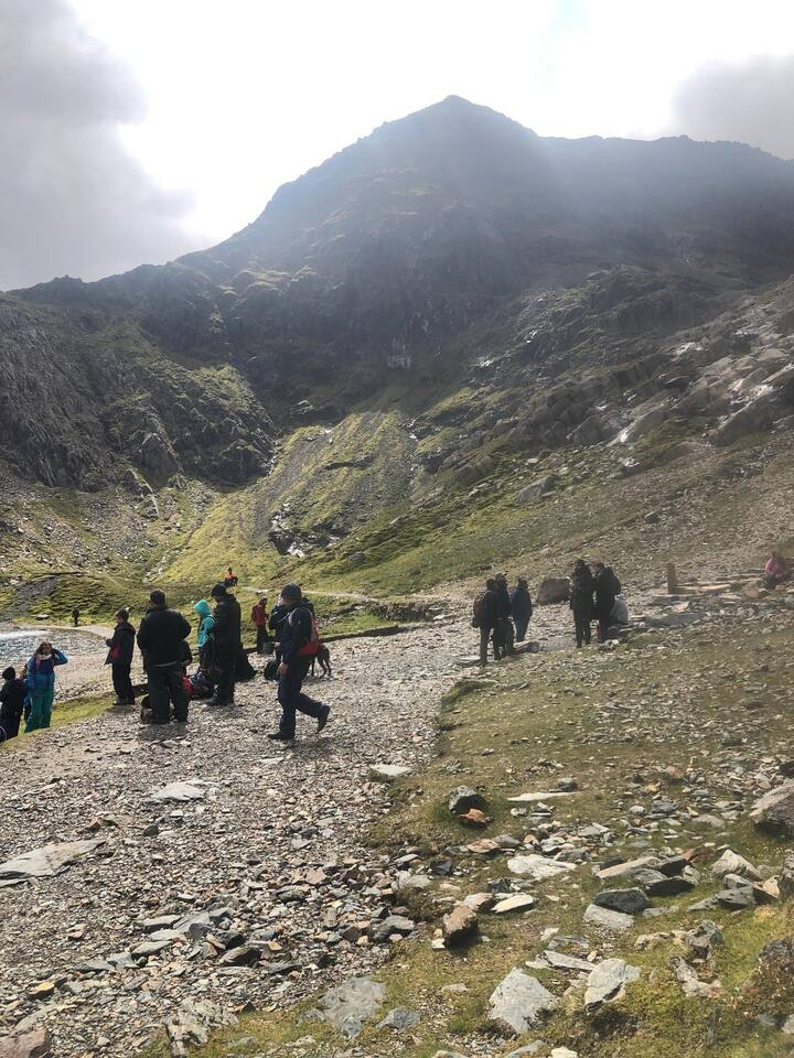 Snowdon's pyramidal peak