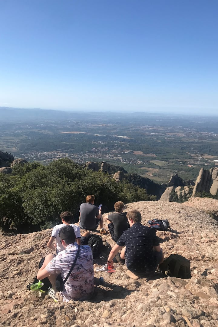 Lunch at the top Sant Jeroni