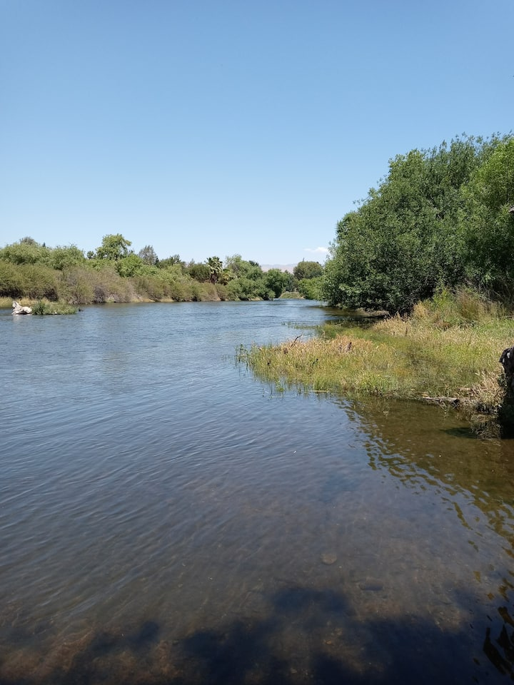 The kern river at hart park trails