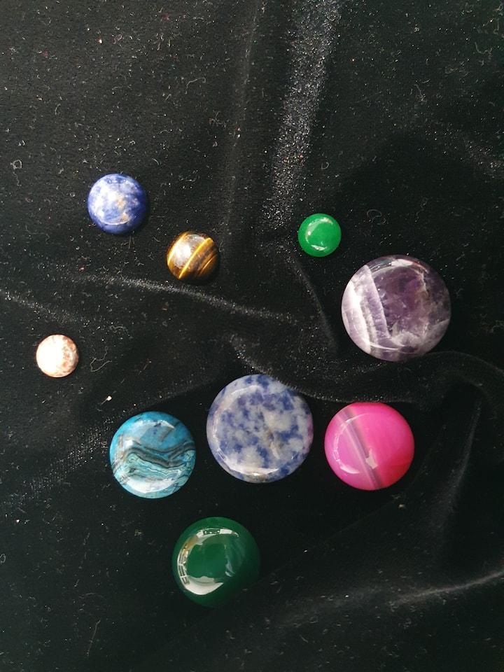 Sample of stones