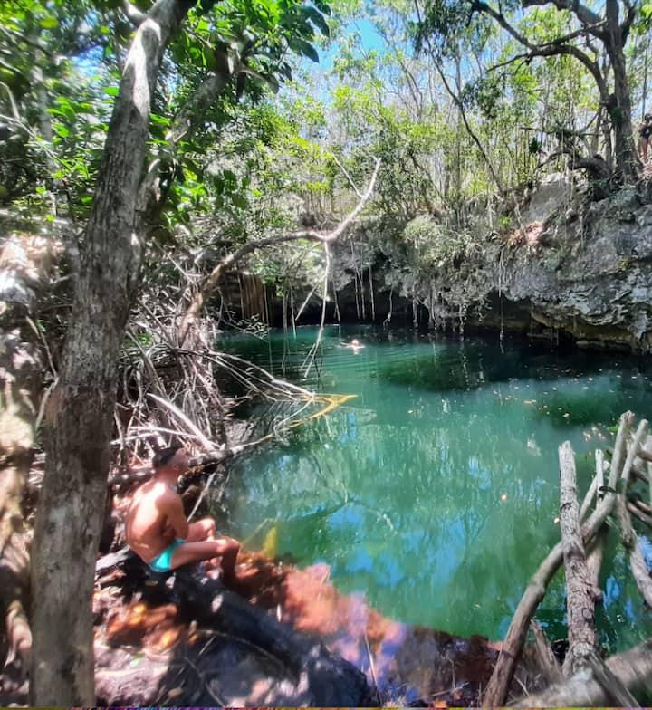 The secret cenote