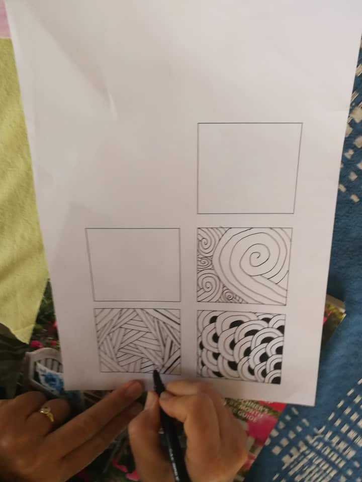 An example of doodling